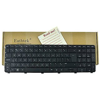 Eathtek New Laptop Keyboard for HP Pavilion DV7-6B56NR DV7-6B55DX DV7-6C95DX A6X02UA DV7-6B57NR A1T84UA series Black US