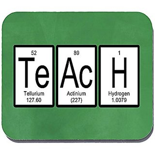 Teach Periodic Table of Elements Science Mouse Pad Mousepad - Neurons Not Included - With Non-skid Backing