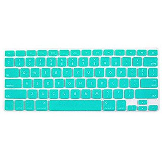 New Silicone Laptop Keyboard Skin Cover Protective Film For Apple Laptop Magic green