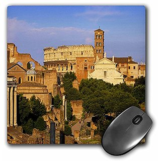 3dRose Sunset on Roman Forum Rome Lazio Italy Eu16 Bjn0011 Brian Jannsen Mouse Pad (mp_137511_1)