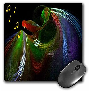 3dRose LLC 8 x 8 x 0.25 Inches Song Bird Mouse Pad (mp_8973_1)