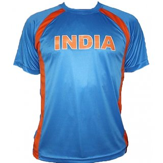 IPL World Cup Indian Fan Blue Jersey
