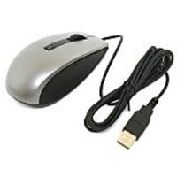 Genuine Dell K251D 6-Button Grey Gray Silver Black USB Scroll Wheel Optical Laser Mouse, Works Perfectly With Windows 95
