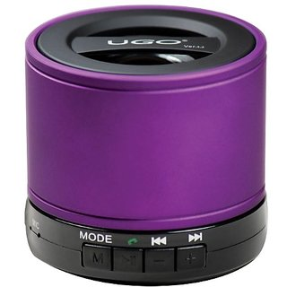 UGO Portable Bluetooth Speaker for Smartphones - Retail Packaging - Purple