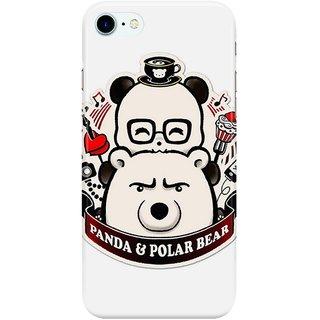 Dreambolic PANDA  POLAR BEAR Back Cover for Apple iPhone 7