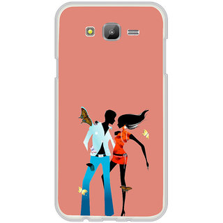 ifasho Boy and girl dancing Back Case Cover for Samsung Galaxy On 7