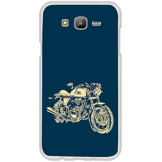 ifasho Fierry Bike Back Case Cover for Samsung Galaxy On 7