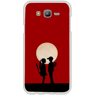 ifasho Boy and girl love Back Case Cover for Samsung Galaxy On 7