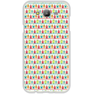 ifasho Modern Art Design Pattern Lot Doll and postbox  Back Case Cover for Samsung Galaxy On 7
