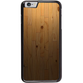Ayaashii Wooden Pattern Back Case Cover for Apple iPhone 6