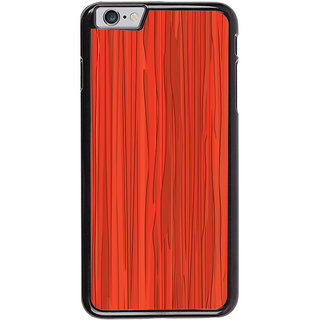 Ayaashii Reddish Pattern Back Case Cover for Apple iPhone 6