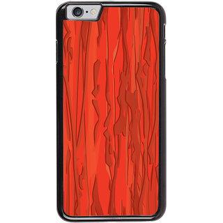 Ayaashii Orange Pattern Shades Back Case Cover for Apple iPhone 6