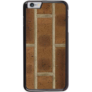 Ayaashii Collection OF Brick Back Case Cover for Apple iPhone 6