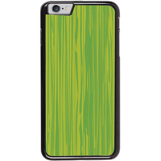 Ayaashii Green Shaded Pattern Back Case Cover for Apple iPhone 6