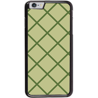 Ayaashii Box Pattern Back Case Cover for Apple iPhone 6