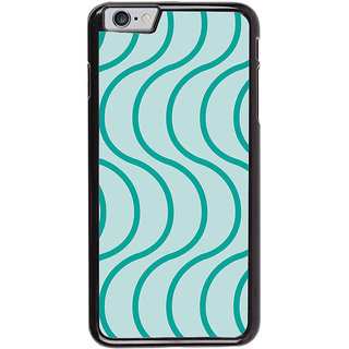 Ayaashii Curves String Pattern Back Case Cover for Apple iPhone 6