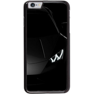 Ayaashii A Blackish Car Back Case Cover for Apple iPhone 6