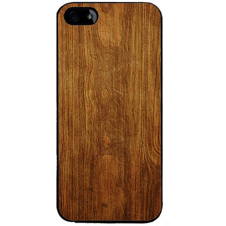 Ayaashii Wooden Finish Back Case Cover for Apple iPhone 5::Apple iPhone 5S