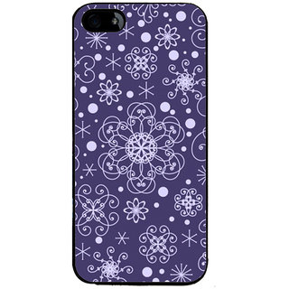 Ayaashii Rangoli Pattern Back Case Cover for Apple iPhone 5::Apple iPhone 5S