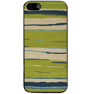 Ayaashii Horizontal Colors paint Back Case Cover for Apple iPhone 5::Apple iPhone 5S