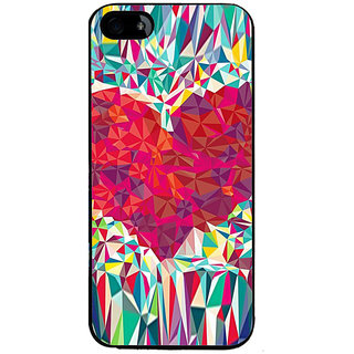 Ayaashii Heart Abstract Back Case Cover for Apple iPhone 5::Apple iPhone 5S