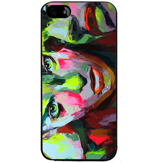 Ayaashii Face Painting  Back Case Cover for Apple iPhone 5::Apple iPhone 5S