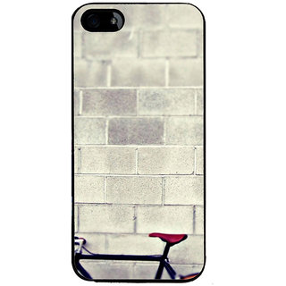 Ayaashii Basic Cycle Back Case Cover for Apple iPhone 5::Apple iPhone 5S