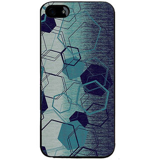 Ayaashii Hexagon Pattern Back Case Cover for Apple iPhone 5::Apple iPhone 5S