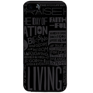 Ayaashii Blessing And Glory Back Case Cover for Apple iPhone 5::Apple iPhone 5S