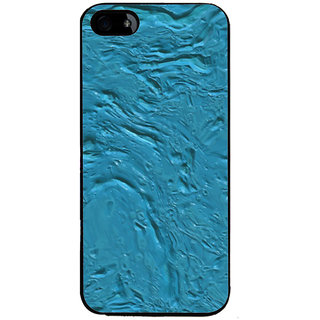 Ayaashii Blue Color Paint Back Case Cover for Apple iPhone 5::Apple iPhone 5S
