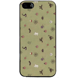 Ayaashii Animal And Insects Pattern Back Case Cover for Apple iPhone 5::Apple iPhone 5S