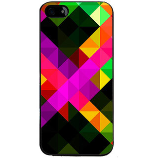 Ayaashii Diamond Abstract Back Case Cover for Apple iPhone 5::Apple iPhone 5S