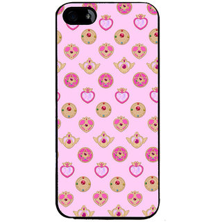 Ayaashii Heart Pattern Back Case Cover for Apple iPhone 5::Apple iPhone 5S
