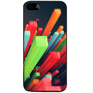 Ayaashii Colorful Stics Back Case Cover for Apple iPhone 5::Apple iPhone 5S