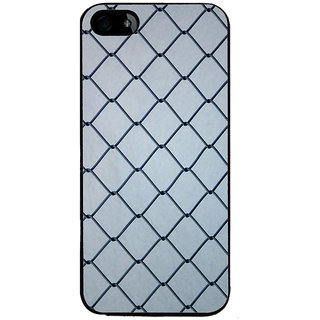 Ayaashii Iron Net Back Case Cover for Apple iPhone 5::Apple iPhone 5S