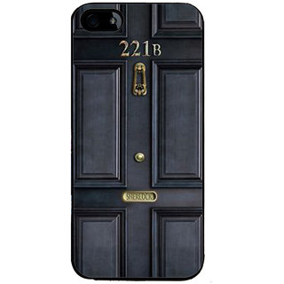 Ayaashii 221B Door Back Case Cover for Apple iPhone 5::Apple iPhone 5S