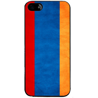 Ayaashii Colorful Vertical Stripes Back Case Cover for Apple iPhone 5::Apple iPhone 5S