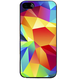 Ayaashii Colorful Abstract Back Case Cover for Apple iPhone 5::Apple iPhone 5S