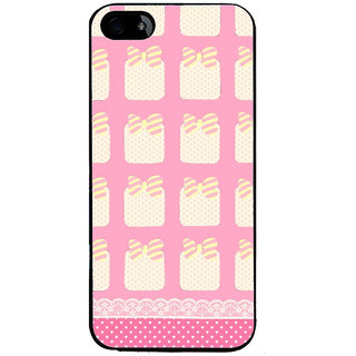 Ayaashii Pink Gift Pattern Back Case Cover for Apple iPhone 5::Apple iPhone 5S