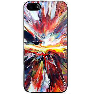 Ayaashii Mixed Colors Back Case Cover for Apple iPhone 5::Apple iPhone 5S