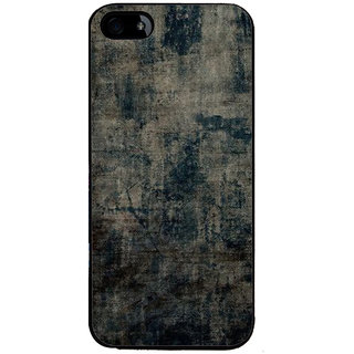 Ayaashii Faded Jeans Cloth Back Case Cover for Apple iPhone 5::Apple iPhone 5S
