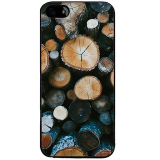Ayaashii Tree Cut Pieces Back Case Cover for Apple iPhone 5::Apple iPhone 5S