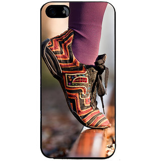 Ayaashii Trendy Shoe Back Case Cover for Apple iPhone 5::Apple iPhone 5S