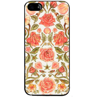 Ayaashii Pink Rose Pattern Back Case Cover for Apple iPhone 5::Apple iPhone 5S