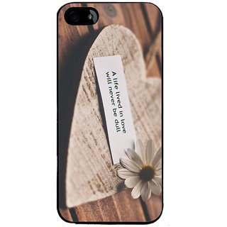 Ayaashii A Life Lived In Love Back Case Cover for Apple iPhone 5::Apple iPhone 5S