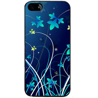 Ayaashii Animated Flower  Back Case Cover for Apple iPhone 5::Apple iPhone 5S
