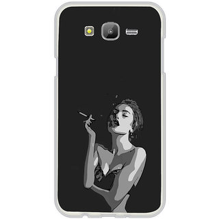 ifasho Smoking girl Back Case Cover for Samsung Galaxy On 7