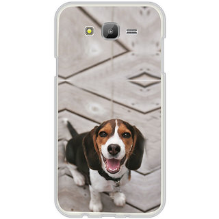 ifasho Grey Dog Back Case Cover for Samsung Galaxy On 7