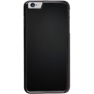Ayaashii Black Net Pattern Back Case Cover for Apple iPhone 6S