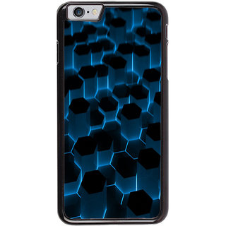 Ayaashii Hexagoan Pattern Back Case Cover for Apple iPhone 6S